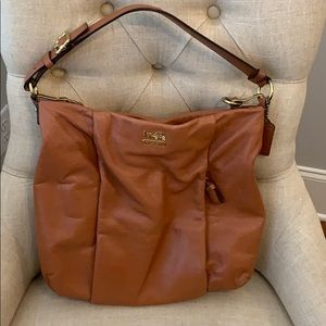 Gorgeous tan Coach bag